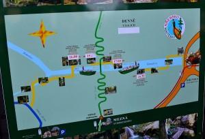 Mapa soutěsek