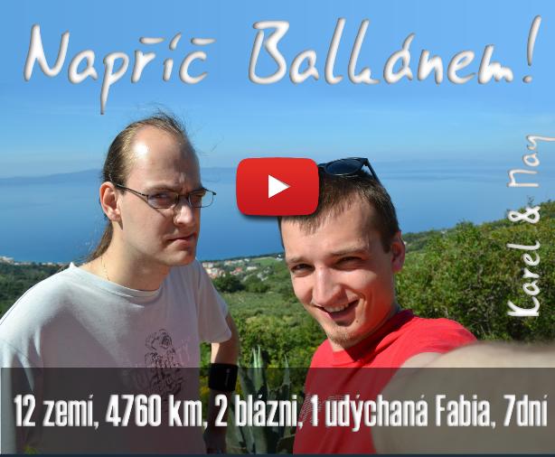 """Film """"Napříč Balkánem!"""" na YouTube"""